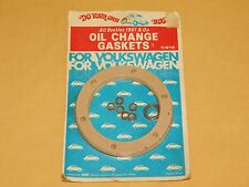 VINTAGE VW VOLKS WAGON OLD CAR AUTO OIL CHANGE GASKETS ALL BEETLES 1961 & ON BUG