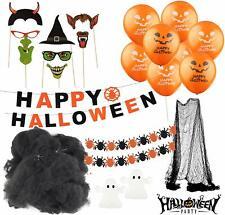 Halloween Deko Grusel Dekoration Set mit über 30 Teilen Halloweendekoration Spaß
