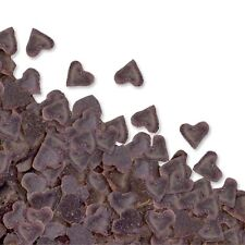 Edible Mini Chocolate Heart Shape Sprinkles for Cupcake Decoration
