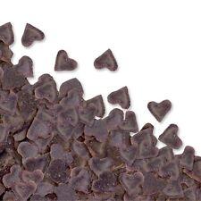 Mini salpicaduras con forma de corazón De Chocolate Comestible Para Cupcake Decoración