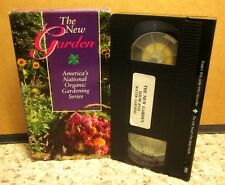 ORGANIC GARDENING instructional Water Gardens TV show VHS gardening tops 1992