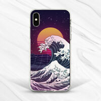 Kanagawa Wave Vaporwave Modern Abstract Case For iPhone 6 7 8 Xs XR 11 Pro SE