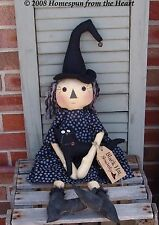 Primitive Pattern Black Hat Society A witch & Her Cat to make !  # HFTH