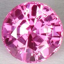 4,30 ct Bright Pink Topaze - Brilliant cut - IF - Brazil - Wonderful & Excellent