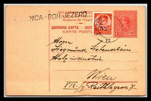 GP GOLDPATH: YUGOSLAVIA POSTAL CARD 1938 _CV585_P05