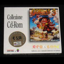 GOBLINS 3 Pc Versione Italiana Goblin »»»»» NUOVO SIGILLATO
