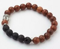 Bracelet Buddha Lava Aromatherapy Scent Diffuser Essential Oil Meditation Yoga