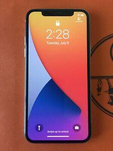 Apple iPhone X - 256GB - Silver A1901 (GSM) Unlocked