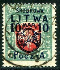 MITTELLITAUEN 1920 13 gest SELTENE MARKE (Z1881