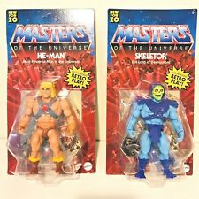 2020 Masters of the Universe Origins MOTU He Man Skeletor Action Figures Retro