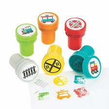 Train Kids Stampers - Stationery - 24 Pieces