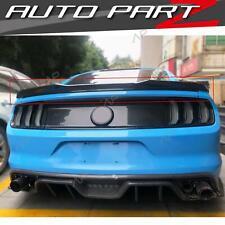 Carbon Fiber Spoiler Heckspoiler Heck Flügel für FORD Mustang GT 2014 - 2019 fd1