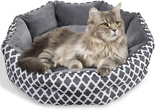 JOYO Cat Bed, 25 inch Pet Bed Machine Washable for Cats or Small Dogs Double Sid