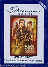 BLOOD DIAMOND - ( 2-DISC STEEL BOX, TITANIUM COLLECTION Special Edition