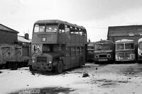 Peter Sheffield Cleethorpes OWX166 out of use Depot Bus Photo