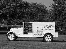 1929 Ford Model Aa Good Humor Ice Cream Truck 8 x 10 Photograph
