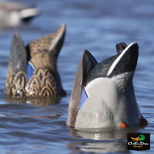 AVERY GREENHEAD GEAR GHG PRO-GRADE MALLARD BUTT-UP FEEDER DUCK DECOYS PAIR