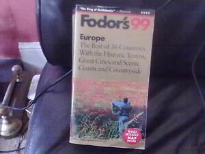 Fodor's 99 Europe Paperback English Travel Fodor 1998 UK