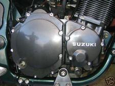Suzuki GSX1300R Hayabusa Carcasa De Motor De Acero Inoxidable Pernos
