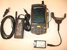 SYMBOL MOTOROLA MC7596-PZCSKRWA9WR 2D BARCODE SCANNER GSM CELLULAR 26-KEY CAMERA