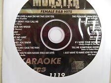 Monster Hits Karaoke CD+Gvol-1119/ Mariah Carey,Patti Labelle,Alicia Keys,+ more