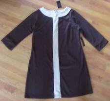 NWT BCBG MAXAZARIA Womens Tunic Dress Brown M L XL $210