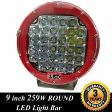 """9"""" 259W Round CREE LED Work Light Spot work light Offroad for Jeep UTE Truck"""
