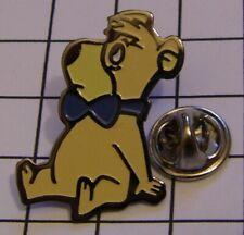 BOO-BOO BEAR variant 1 YOGI BEAR HANNA BARBERA vintage pin badge Z4X