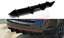Skoda Octavia 3 RS Heckansatz Heck Diffusor Heckschürze Flaps III 5e Stoßstange