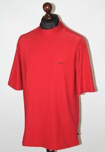 Vintage Nike Golf mens red shirt Size L