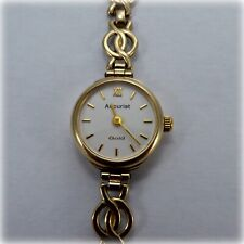 Ladies 9ct gold Accurist Bracelet Watch