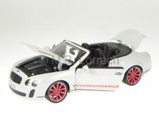 Bentley Continental Supersports Cabrio weiss Modellauto Bburago 1:18