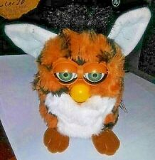 Vintage 1999 Furby Tan and White RARE
