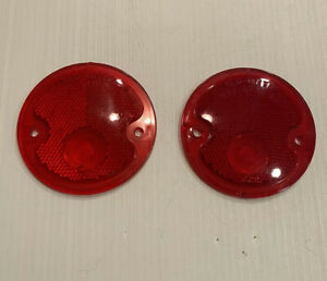1954 1955 54 55 Chevy GMC Truck Stepside TailLight Lens NORS 5938745 Globrite US