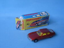 Lesney Matchbox Superfast 51 Citroen SM Yellow Seat Bronze Body Boxed