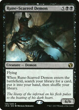 MTG Magic the Gathering NM Near Mint Rune-Scarred Demon IMA Iconic Masters