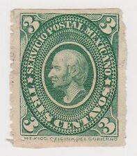 (MCO-28) 1884 Mexico 3c green HILDARGO MNG (space filler)