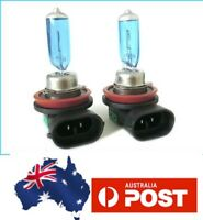 H16 FOG LIGHTS Headlight Fog Light Bulbs Globe Super White 12V + LED