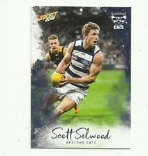 2018 select FOOTY STARS GEELONG #88 SCOTT SELWOOD COMMON CARD FREE POST