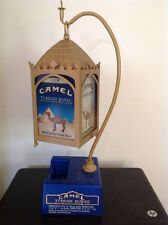 Vintage CAMEL TURKISH ROYAL Countertop Light Display