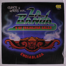 ELDER Y LARRY CON LA BANDA Y SU TREMENDA: Endiablada LP (Venezuela, '78, promo