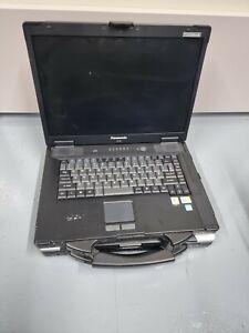 Panasonic Toughbook CF-52 Laptop Core 2 Duo Missing Parts Read Description