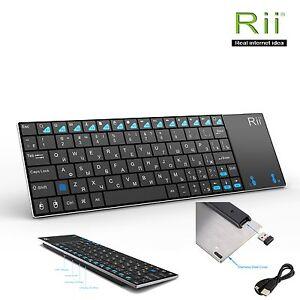 Rii k12+ Russian Layout Wireless Mini Keyboard for Windows MultimediaControl PC