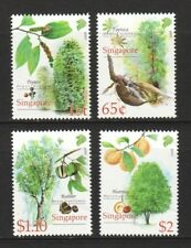 SINGAPORE 2008 CASH CROP OF EARLY SINGAPORE COMP. SET OF 4 STAMPS IN MINT MNH