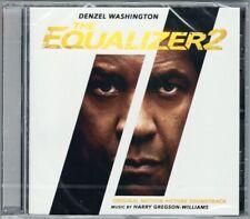 THE EQUALIZER 2 Harry Gregson-Williams OST Soundtrack CD Denzel Washington EQ2