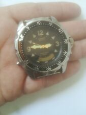 vintage  CASIO 388 AD-520 JAPAN DM WATCH FOR SPARE FOR REPAIR