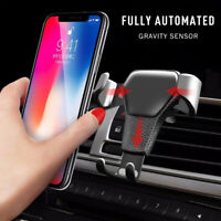 New anti-skid anti-fall mobile phone car air outlet gravity mobile phone bracket