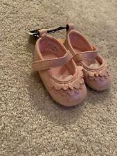 Bebé Niña Zapatos para Cuna de oro rosa 3-6 meses