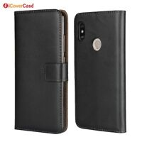 For Xiaomi Redmi Note 5 Pro Luxury Leather Wallet Flip Stand Case Cover