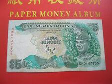 RM5 Jaafar sign with cross & silver thread - NM 0147205 (VF)